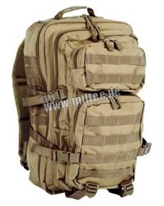 Plecak wojskowy taktyczny Mil-Tec US ASSAULT PACK LG 36L molle Coyote idealny na każdy rodzaj outdooru